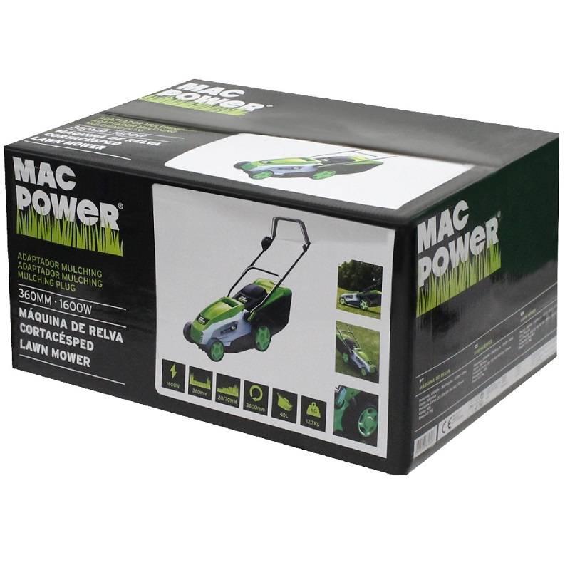 Tondeuse à gazon MAC 1600W 36 CM