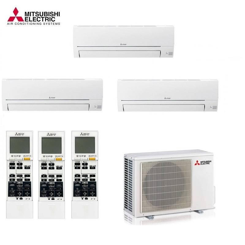 Climatiseur Multi Split Mitsubishi Electric MXZ-3F68VF - 2 X MSZ-BT20VGK - 1  X MSZ-BT50VGK