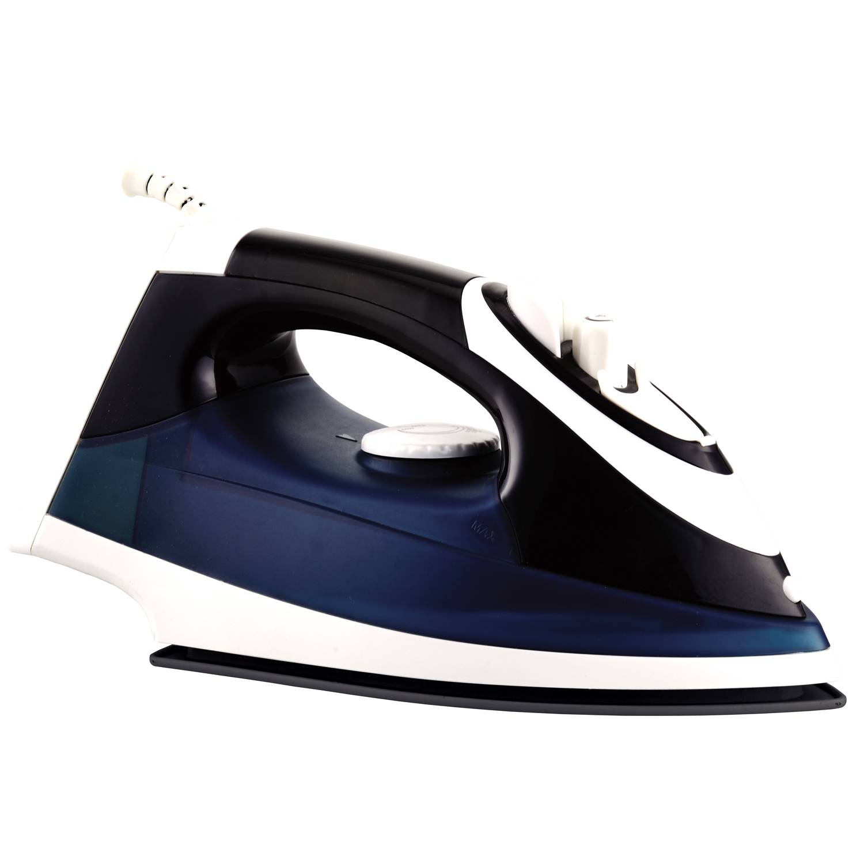 Plancha De Vapor 2200W - Azul Oscuro - Herzberg HG-8037