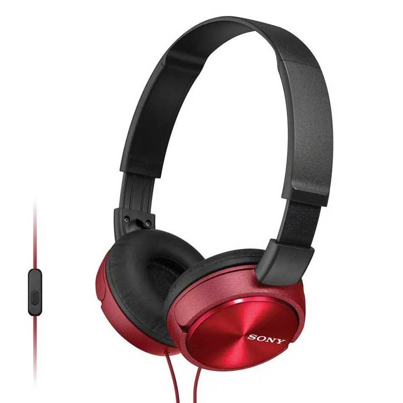 Casque pliable Sony MDR-ZX310AP rouge