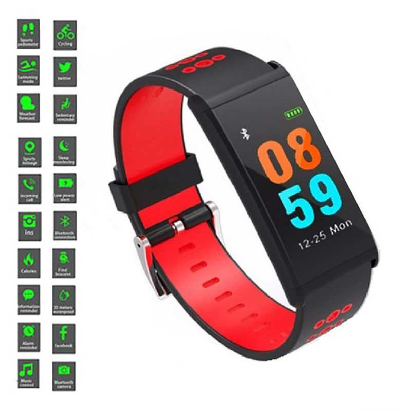 Reloj fitness V-5261 rojo